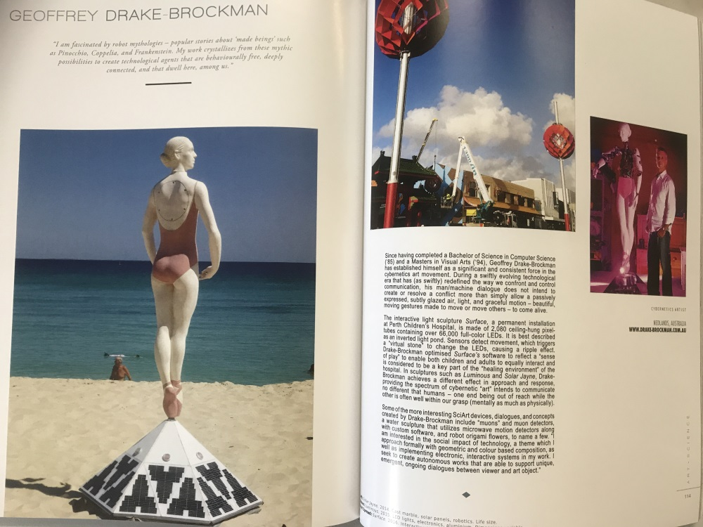 E-Squared Article about Geoffrey